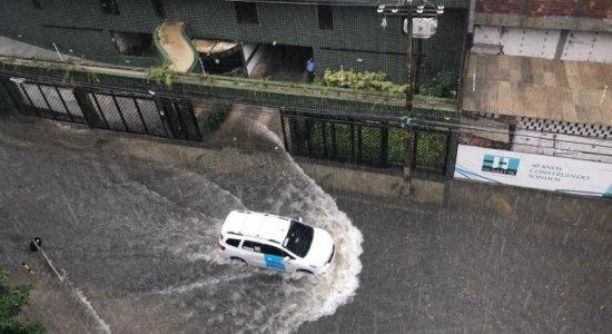 Veja onde mais teve chuva na Região Metropolitana do Recife e Zona da Mata nas últimas 24 horas