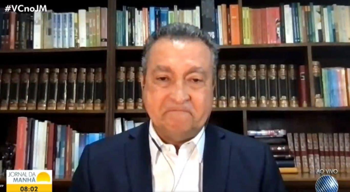 Governador da Bahia se emocionou ao pedir a população para cumprir as medidas de restrição contra a Covid-19