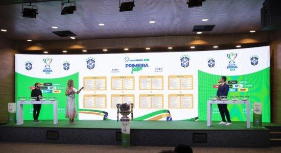 Na primeira fase da Copa do Brasil, Sport vai encarar a Juazeirense e o Santa Cruz enfrenta o Ypiranga-AP
