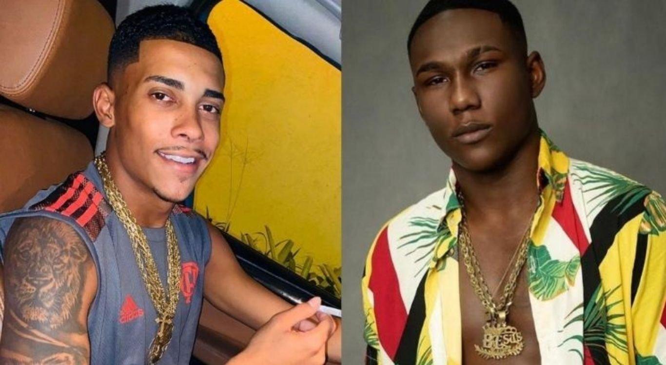 Cantores MC Poze e MC Negão da BL participaram de bailes funk na pandemia e podem ser presos.