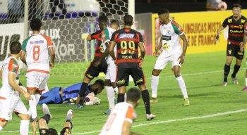 Sport x Salgueiro, válido pelo Campeonato Pernambucano, na Ilha do Retiro