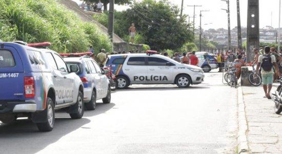 Mototaxista e passageiro são mortos a tiros nas imediações da Estação Coqueiral, em Tejipió
