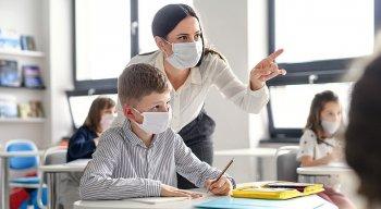 Vota às aulas na pandemia