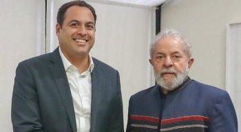 Paulo Câmara e Lula