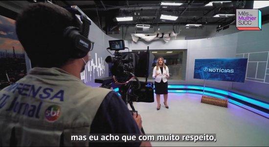 Homenageada na série do SJCC, jornalista Izabela Barbosa conta sua história de vida