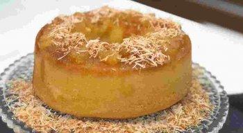 Receita de Torta de Abacaxi com Côco do chef Rivandro França