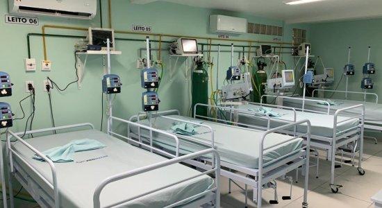 Ministério da Saúde autoriza 15 leitos de UTI Covid-19 em Pernambuco
