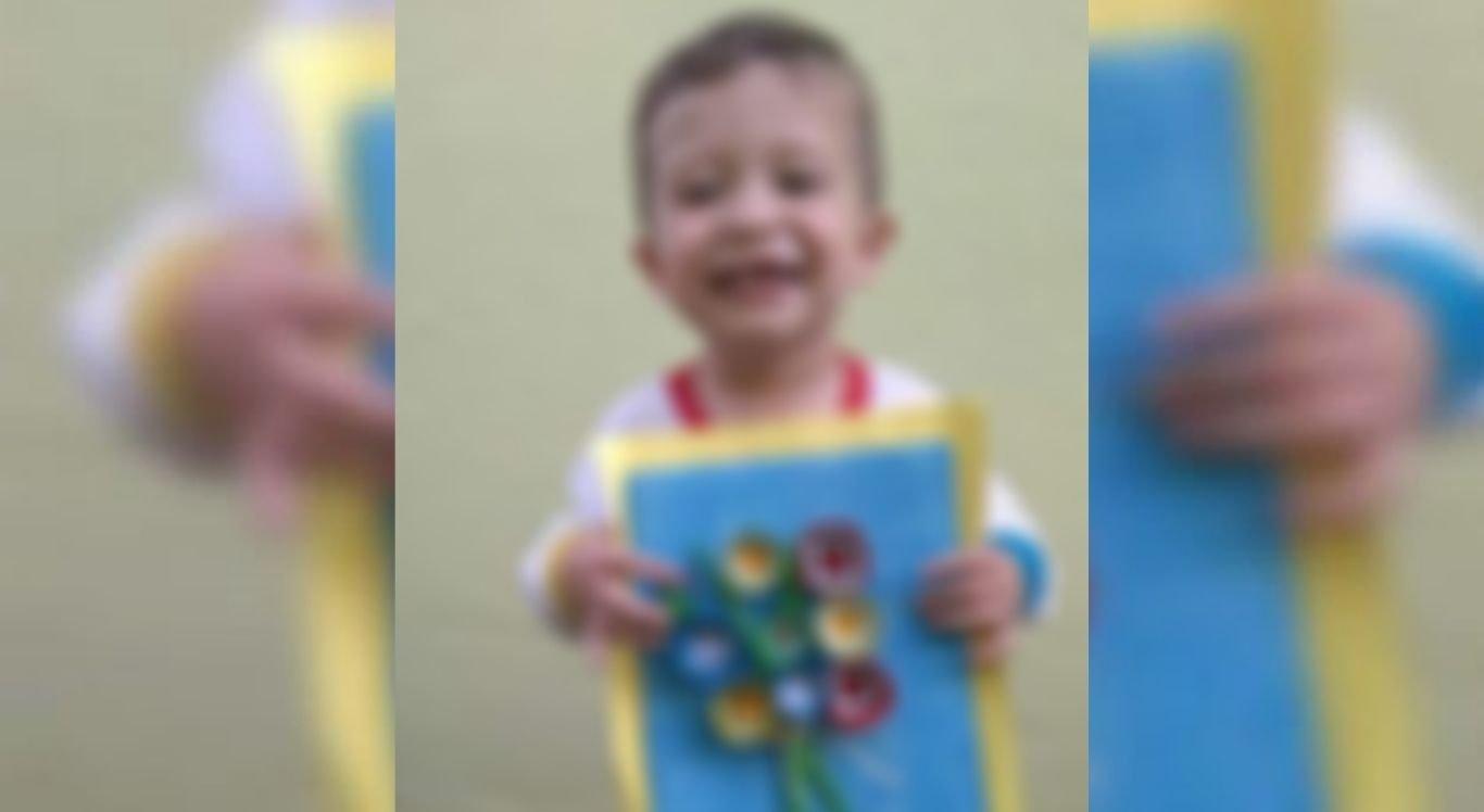 Menino de 3 anos estava com Covid-19.