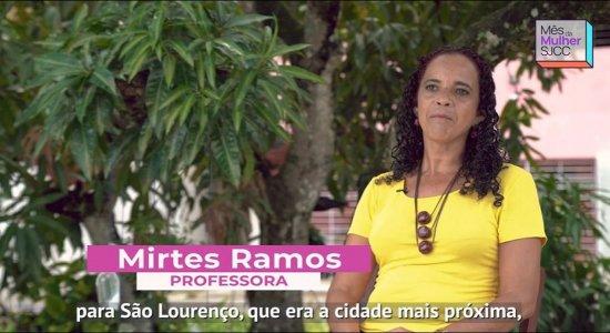 Homenageada da série do SJCC, professora Mirtes Ramos fala um pouco da sua trajetória