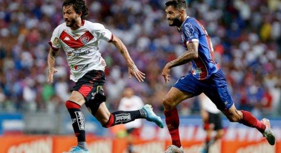 Clássico entre Vitória x Bahia, pela Copa do Nordeste 2021, com transmissão da TV Jornal