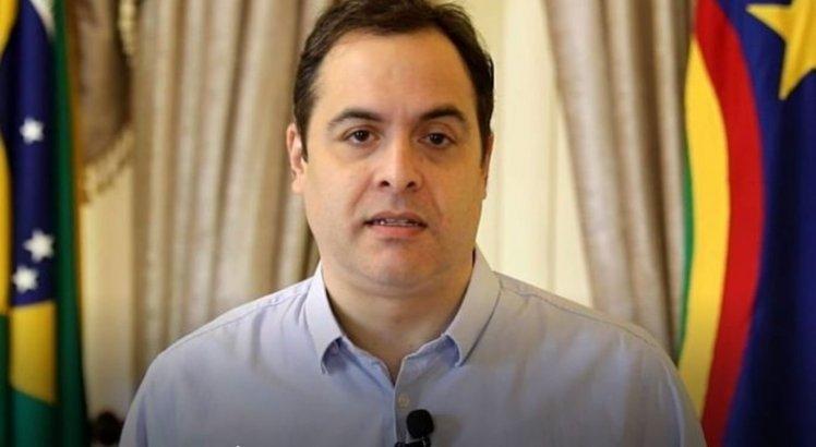 Paulo Câmara anunciou as medidas econômicas durante pronunciamento.