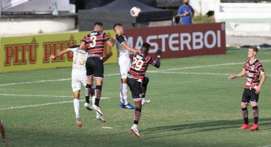 Santa Cruz e Sport ficam no empate no primeiro Clássico das Multidões da temporada