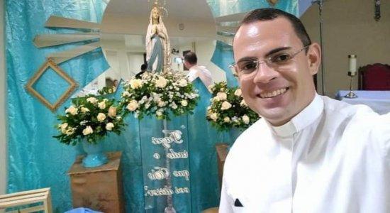 O padre Fernando Lima morreu afogado aos 38 anos.
