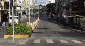 A circulação de pessoas nas ruas está ficar ainda mais restrita em Pernambuco