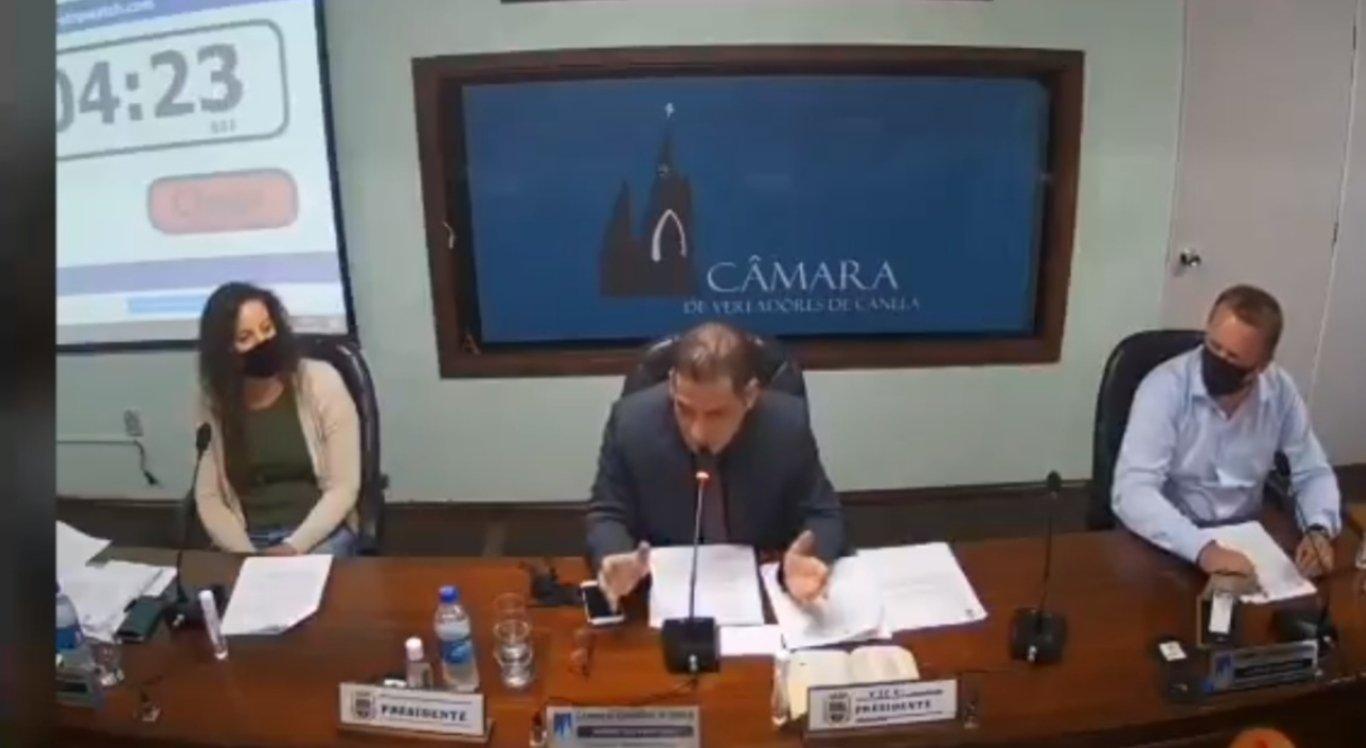 Alberi Dias é presidente da Câmara de Canelas, no Rio Grande do Sul