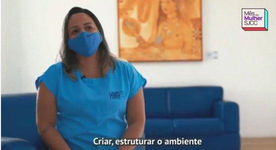 No mês da mulher, enfermeira Brenda Neiva fala da rotina na linha de frente no combate à covid-19