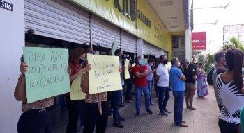 Patrões promoveram manifestação em Petrolina contra quarentena