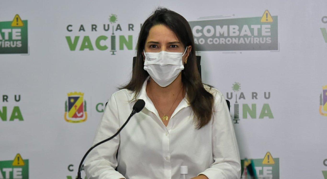Raquel Lyra divulgou a ampliação de leitos em Caruaru