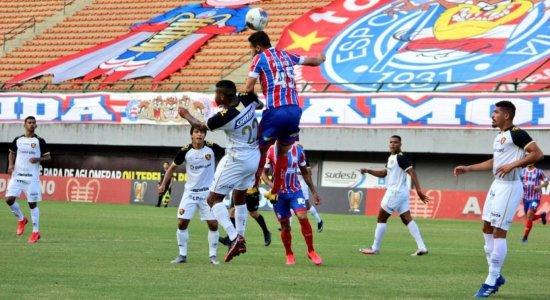 Em partida apática, Sport é goleado pelo Bahia e segue sem vencer na Copa do Nordeste