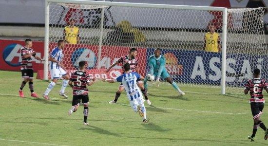 Santa Cruz perde para o CSA e acumula quarta derrota na Copa do Nordeste