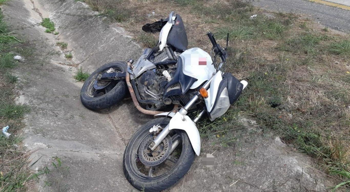 Motocicleta trafegava sentido interior