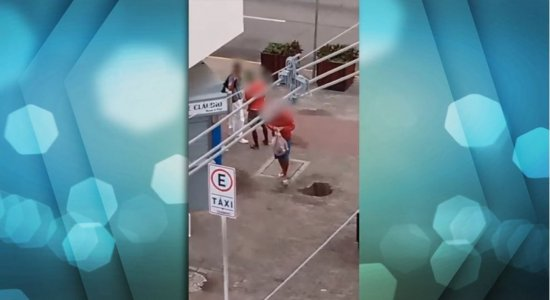Vídeo: Insegurança aumenta na Avenida Conde da Boa Vista durante quarentena mais rígida