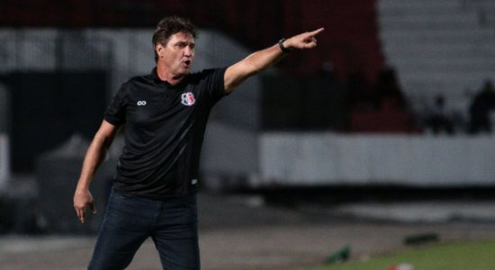 Ouça o gol da vitória do Santa Cruz diante do Fortaleza na voz de Roberto Queiroz