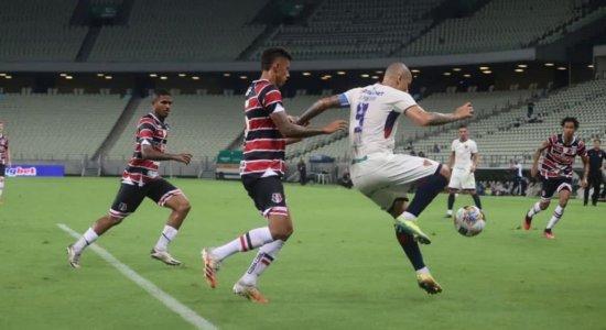 Santa Cruz surpreende o Fortaleza e vence a primeira na Copa do Nordeste