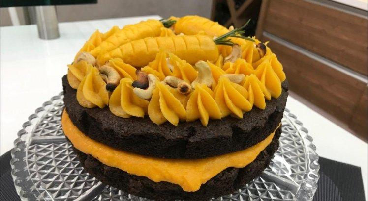 Brownie de chocolate com brigadeiro de cenoura é uma das novidades do programa