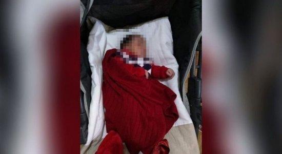 Bebê nasceu saudável, mas contraiu a Covid-19 e não resistiu.