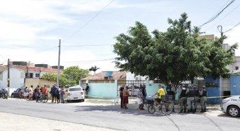 O homicídio teria acontecido por volta das 7h deste sábado, próximo ao Veneza Water Park.
