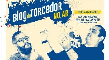 Marcelo Cavalcante e Marcos Leandro vão apresentar o Blog do Torcedor do Ar