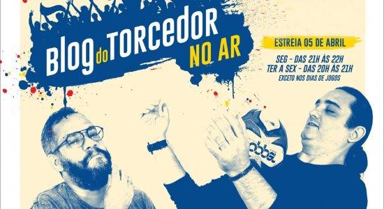 Blog do Torcedor no Ar estreia na próxima segunda-feira (5) com foco na interatividade na rádio web