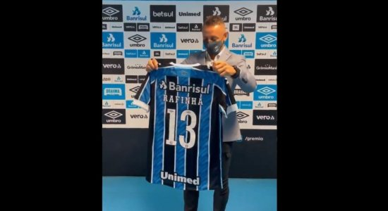 Em chegada ao Grêmio, Rafinha promete: 'vamos ter muito sucesso aqui'