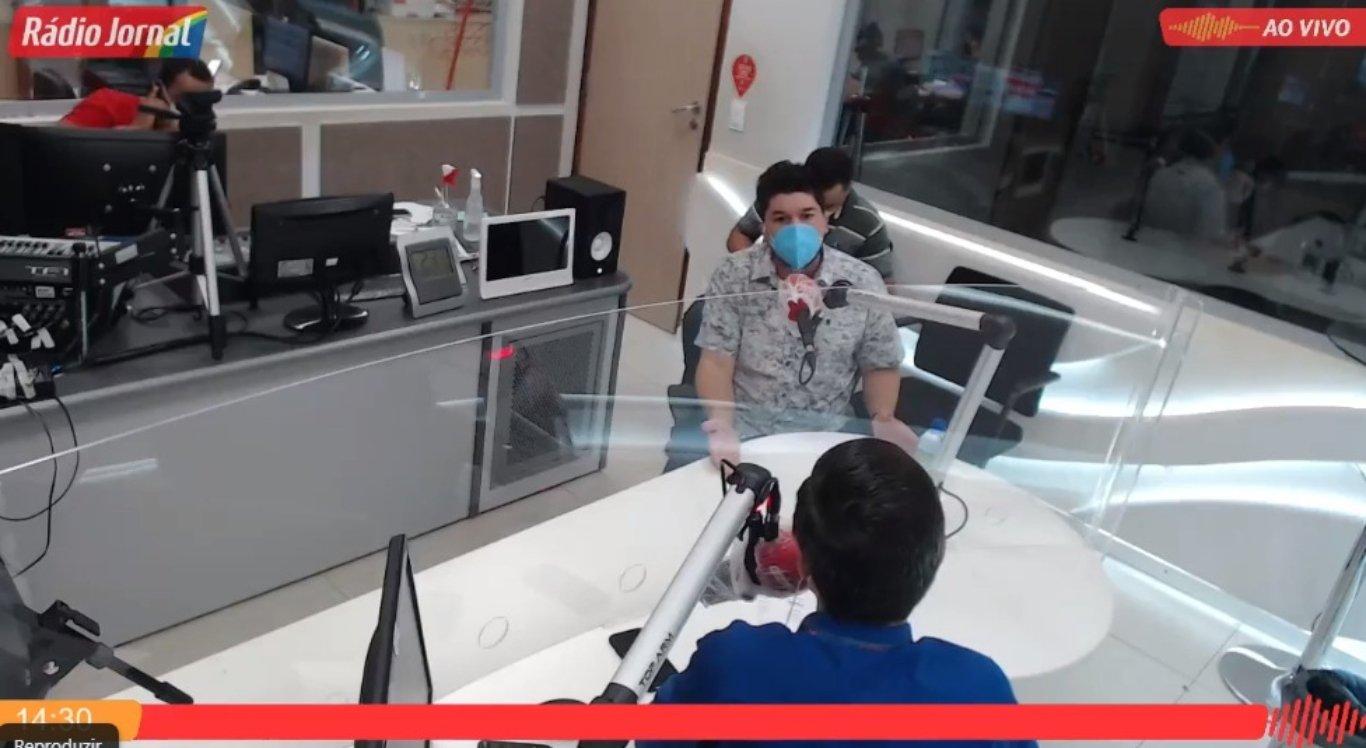 Fagner Fernandes na Rádio Jornal Caruaru