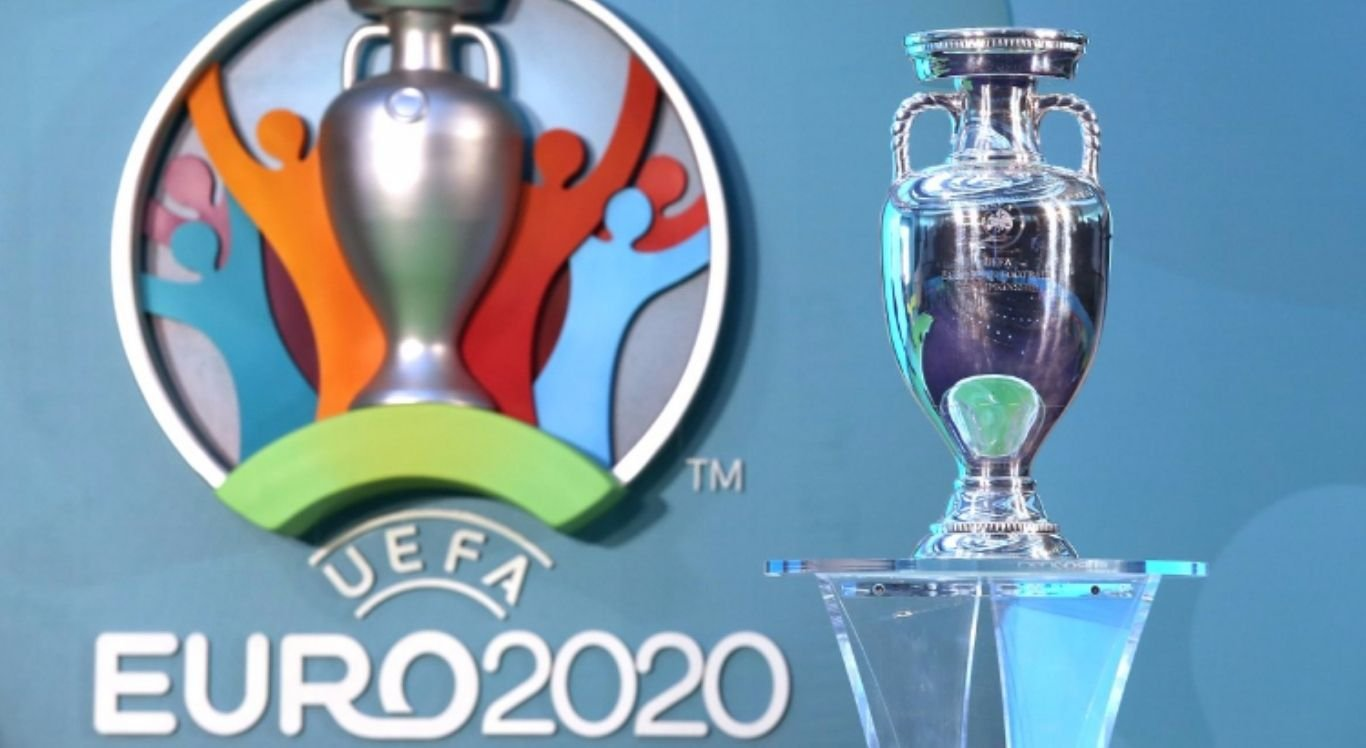 Taça da Eurocopa 2020.
