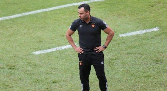 Com iminente eliminação da Copa do Nordeste, técnico do Sport promete lutar pelo título do Pernambucano