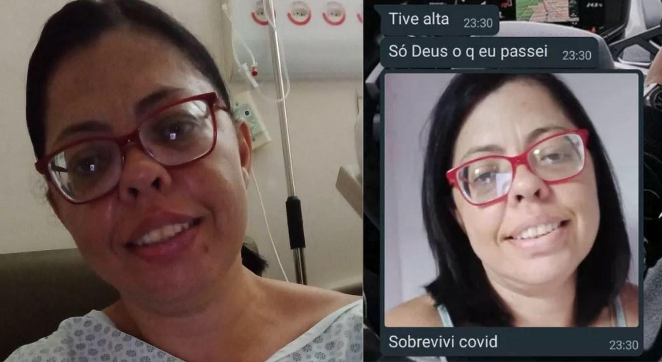 Andreia Alves chegou a comemorar a cura da doença em mensagem ao filho.
