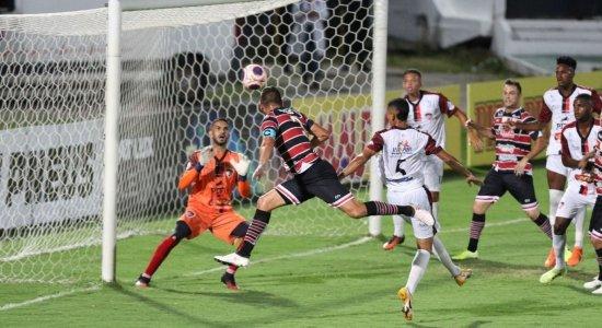 Santa Cruz goleia o Vera Cruz por 4 x 1 no Arruda pelo Campeonato Pernambucano