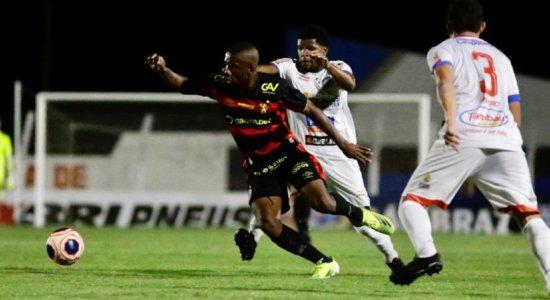 Sport joga mal novamente e empata sem gols com o Afogados pelo Pernambucano