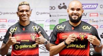 Rentería e José Welison foram apresentados oficialmente pelo Sport