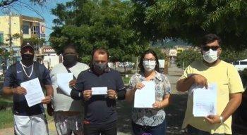 A polícia registrou vários boletins de ocorrência contra o suspeitos, que estaria praticando golpes na cidade.