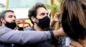 Parlamentar foi preso hoje acusado da morte do enteado