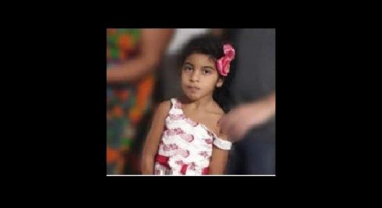 Menina de cinco anos morre após se engasgar durante almoço, em Caruaru
