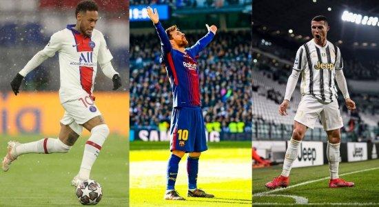 Neymar, Messi, CR7 & cia na tela do SBT/ TV Jornal: 'transmitiremos a maior vitrine mundial do futebol'