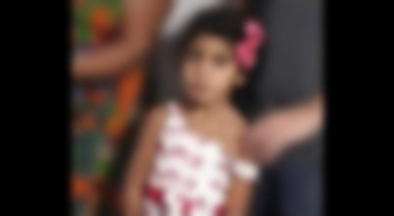 A menina morreu engasgada em Caruaru