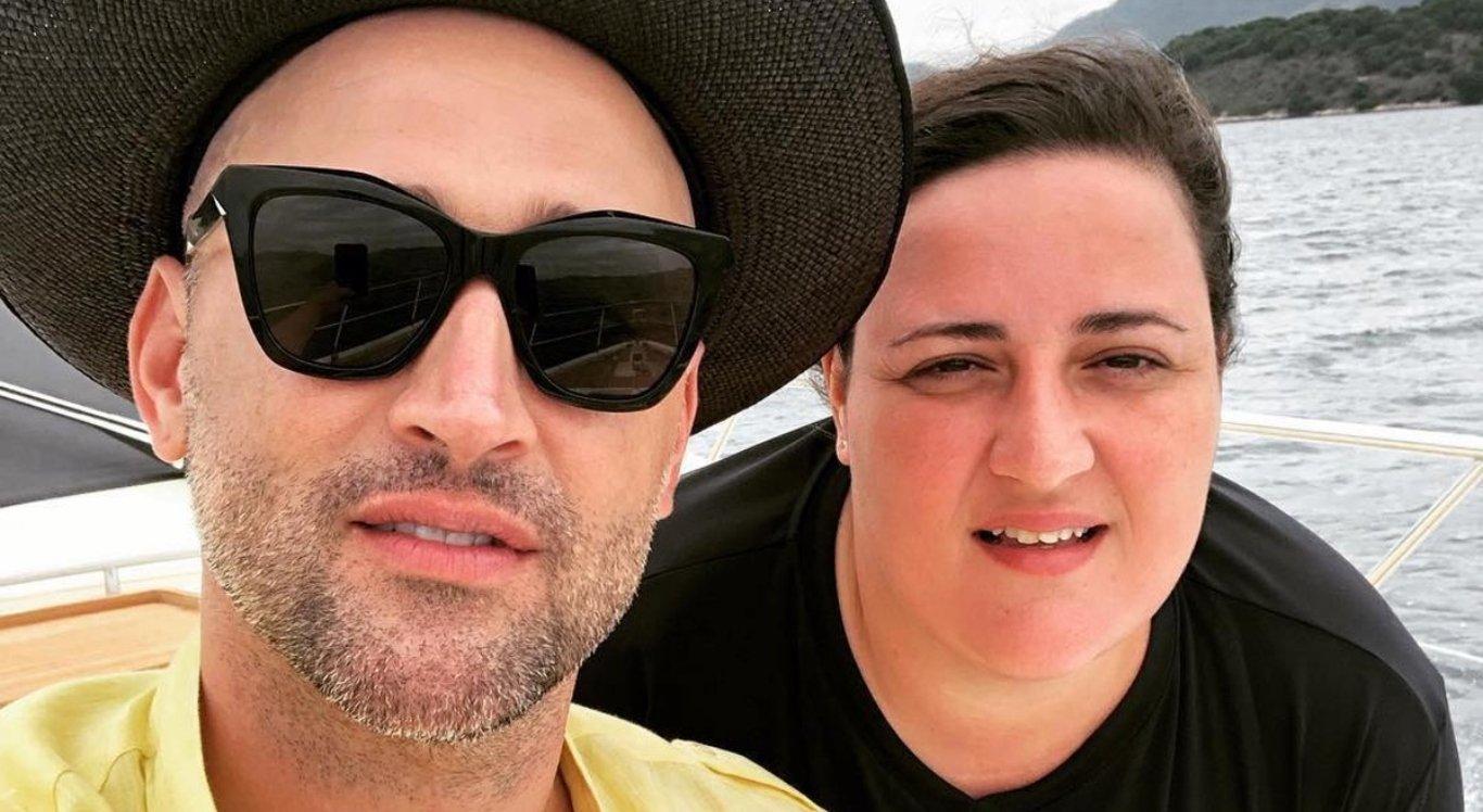 Paulo Gustavo e sua irmã, Ju Amaral