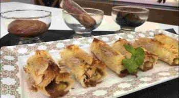 Receita de Rolê de Pão de Forma e Sacolé de Brigadeiro Crocante do chef Rivandro França