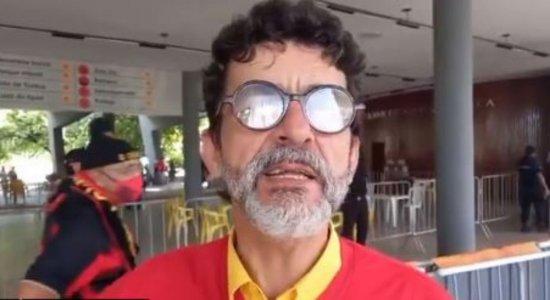 Candidato à presidência do Sport pede paralisação das eleições após desentendimento com supostos membros da Torcida Jovem