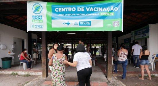 Recife baixa a idade de vacinação contra a covid-19 para população geral; confira